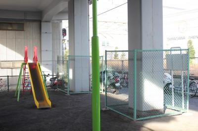 新幹線中丸子公園滑り台