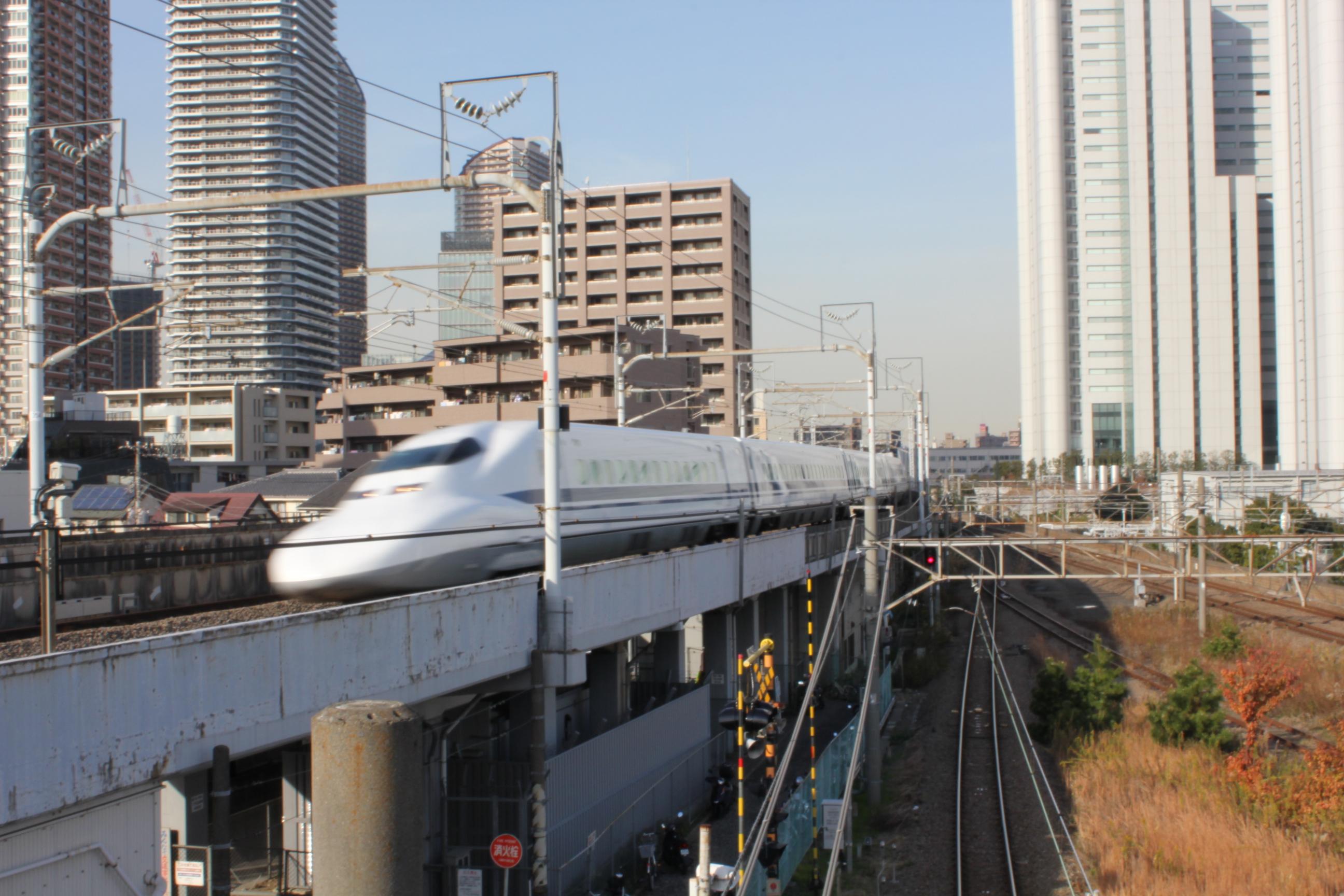 子供と見る新幹線スポット