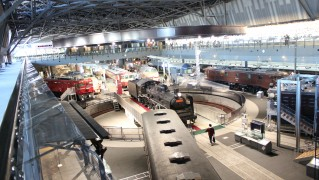鉄道博物館2Fからの写真