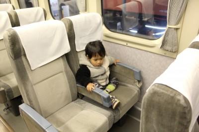 200系新幹線客席
