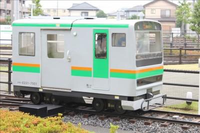 ミニ湘南新宿ラインが通過します