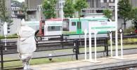 ミニ運転列車ミニ両国橋駅