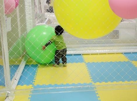 遊KIDS愛ランド大きい風船