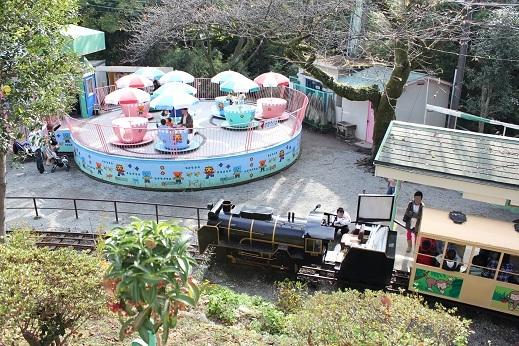 小田原城址公園SL機関車