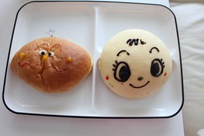 アンパンマンミューアム「パン工場のパン」