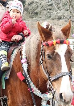 こどもの国乗馬体験