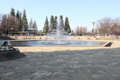 世田谷公園噴水広場