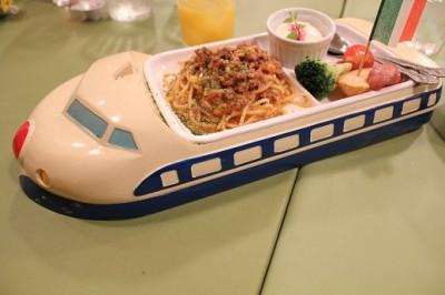 お台場イタリアン新幹線ランチ