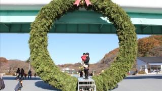 大きなクリスマス装飾
