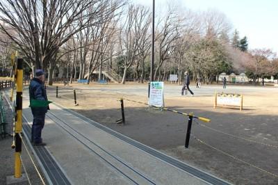 世田谷公園SL広場踏切