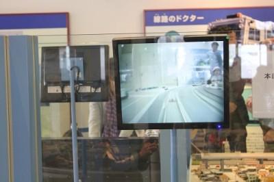 マイクロカメラー電車と線路
