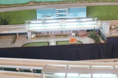 ジオラマ二子玉川駅