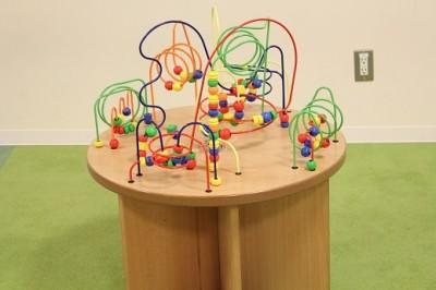 モザイクモール子供の広場ビーズコースター