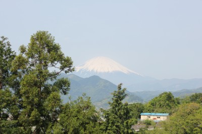 西平畑公園 から見える富士山