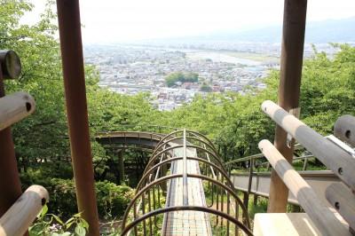 太陽のすべり台 神奈川県松田市