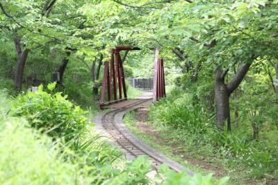 西平畑公園のミニ鉄道