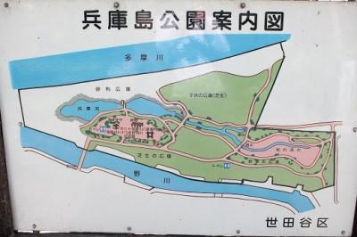兵庫島公園案内図