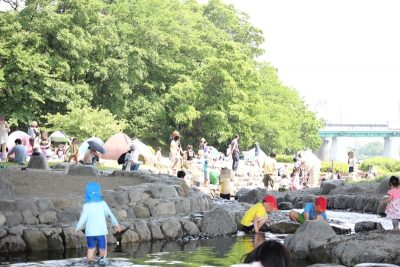 兵庫島公園水遊び
