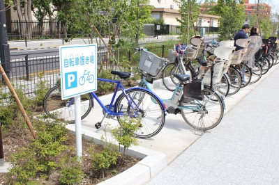 二子玉公園駐輪場