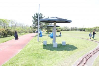 蓮沼海浜公園 芝生広場付近