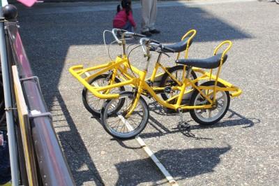 蓮沼海浜公園の自転車