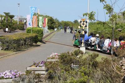 蓮沼海浜公園のミニ鉄道の旅!