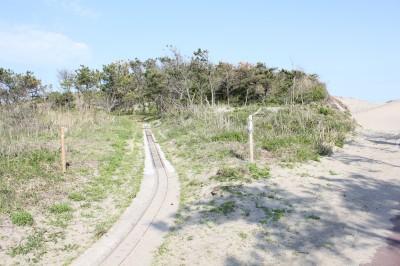 蓮沼海浜公園の線路