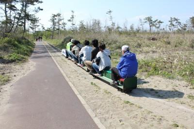 蓮沼海浜公園のミニ鉄道