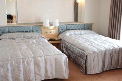ホテルクラウンパレスベッド