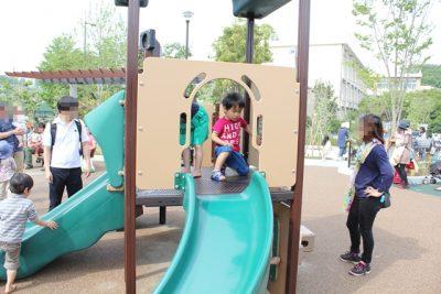 二子玉川公園のすべり台