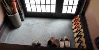 足袋が並んでいる玄関