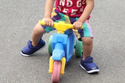 ナイキダイナモフリーでミニバイク