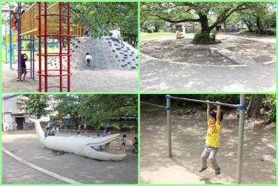 稲田公園-お砂場