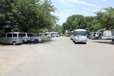 稲田公園-駐車場