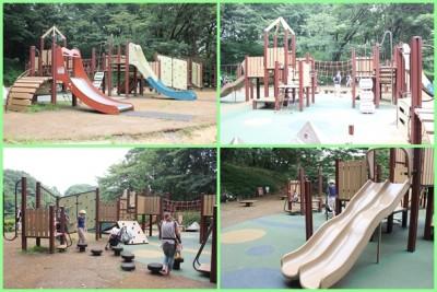 四季の森公園-遊具広場①