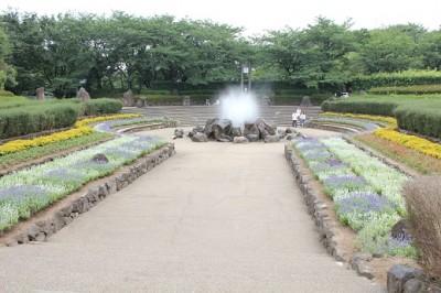 四季の森公園-噴水広場