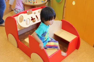 キドキド読売ランド店-木の車