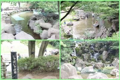 四季の森公園-じゃぶじゃぶ池