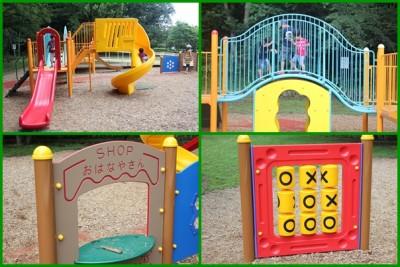 こども自然公園ー自由広場遊具