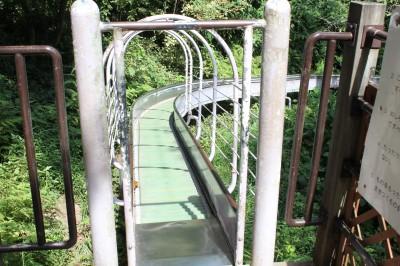 三ツ池公園ロングローラー滑り台スタート地点