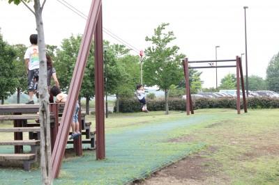 稲城北緑地公園-ロープアスレチック