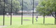 軟式野球場の様子