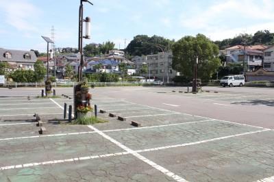 三ツ池公園-駐車場