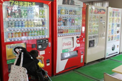 児童遊園地-プールの自動販売機