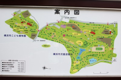 児童遊園地-案内図
