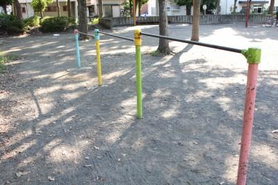 橘公園-鉄棒