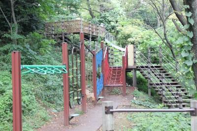 三ツ池公園-アスレチック遊具