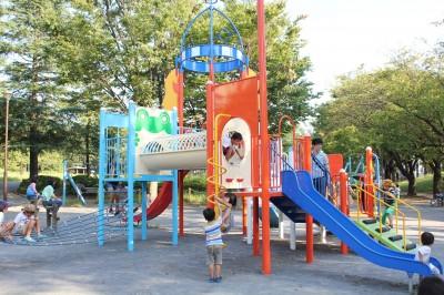 美しが丘公園ー大型複合遊具