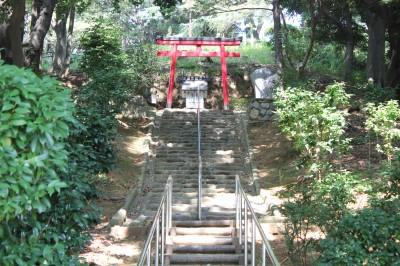 三ツ池公園-水神祠