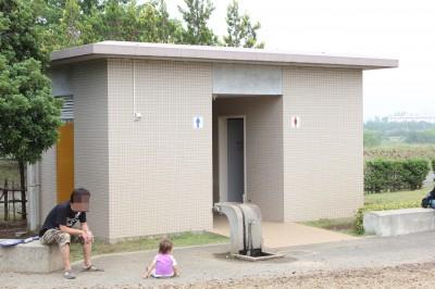 稲城北緑地公園-トイレ